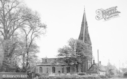 Cottesmore, The Church c.1955