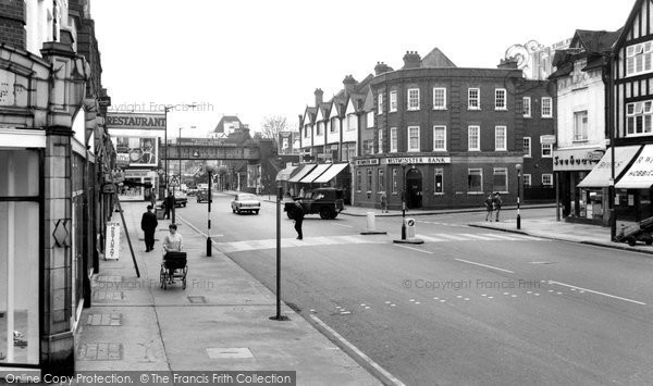 Coulsdon, Brighton Road 1963
