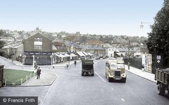 Coulsdon, Brighton Road c1955