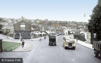 Coulsdon, Brighton Road c1955