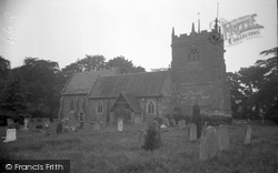 St Peter's Church 1936, Cound