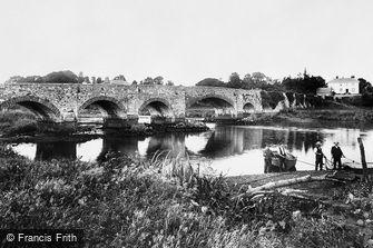 Countess Wear, the Bridge over the Exe 1906