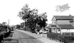 Countesthorpe, Station Road c.1965