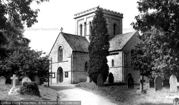 Cove, St John's Church c1955