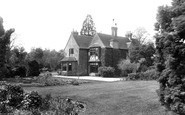 Cove, the Vicarage 1913