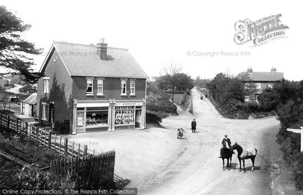 Cove, West Heath Corner 1913