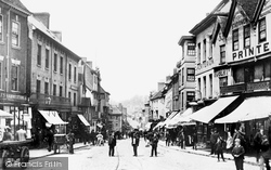 Bishop Street From Cross Cheaping 1892, Coventry