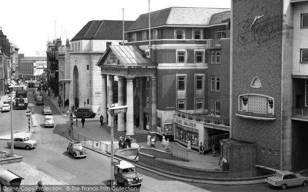 Coventry, Broadgate and High Street 1960