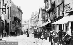 Coventry, Butcher Row 1892