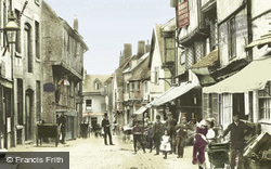 Butcher Row 1892, Coventry