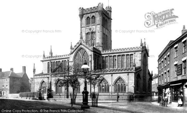 Coventry, Church of St John the Baptist c1884