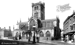 Coventry, Church Of St John The Baptist c.1884
