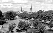 Coventry, Greyfriars Green c1955
