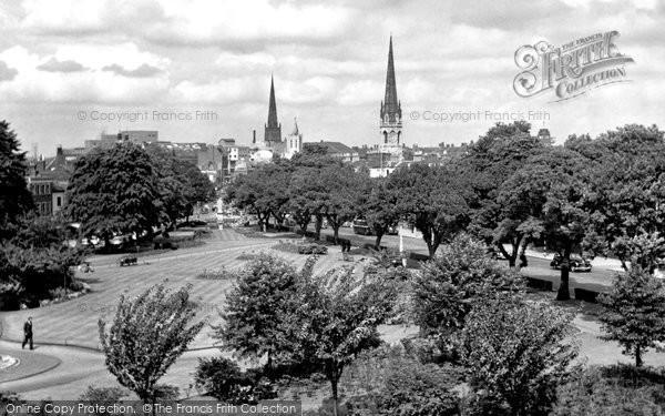 Coventry, Greyfriars Green c1955