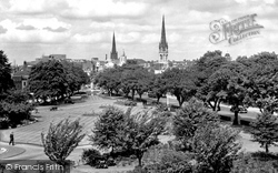 Coventry, Greyfriars Green c.1955