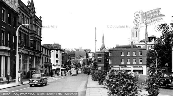 Coventry, Hertford Street c1955