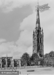 Old Cathedral c.1960, Coventry