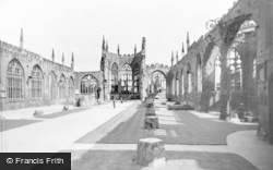 Old Cathedral Ruins c.1960, Coventry