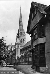 Coventry, St Michael's Church 1892