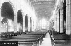 St Michael's Church Interior 1880, Coventry