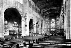 Coventry, St Michael's Church Interior 1892