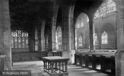 Coventry, St Michael's Church, Interior c.1884