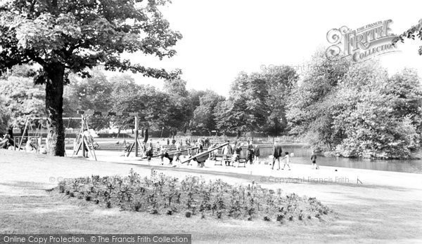 Coventry, Swanswell Park c1955