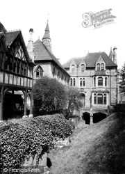 The Blue Coat School And Cathedral Ruins c.1890, Coventry