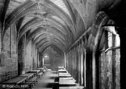 The Cloisters, White Friars Monastery c.1900, Coventry