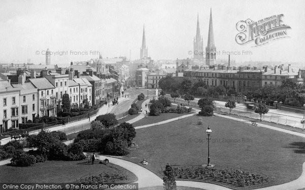 Coventry, Three Spires c1890