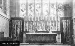 Trinity Church Altar 1897, Coventry