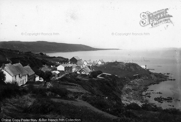 Coverack, above the Signal Station 1890