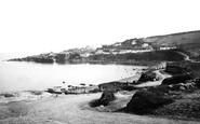 Coverack, from Helston Road 1890