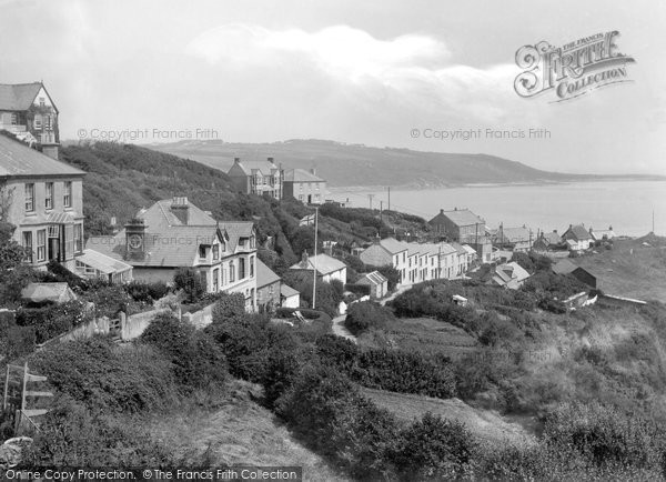 Coverack, from the South West 1938