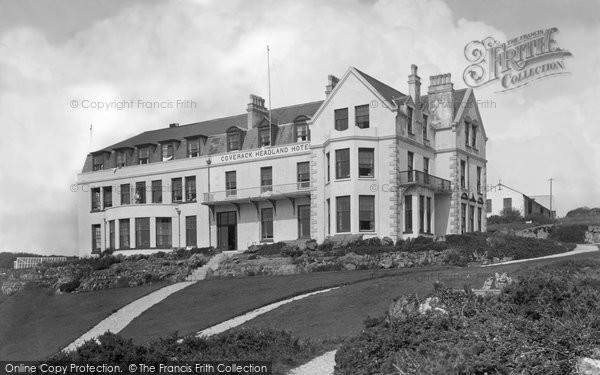 Coverack, Headland Hotel 1938