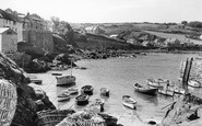Coverack, the Harbour c1960