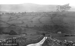 Drovers' Crag, Coverdale 1926, Coverham
