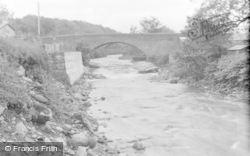 Cowan Bridge, The Bridge (Of Bronte Note) c.1931