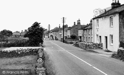 Cowan Bridge, The Village c.1955