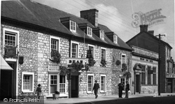 Bear Hotel c.1955, Cowbridge