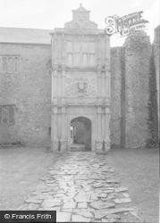 Cowbridge, Beaupre Castle 1960