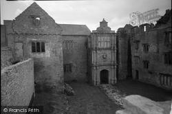 Beaupre Castle, The Inner Porch 1960, Cowbridge