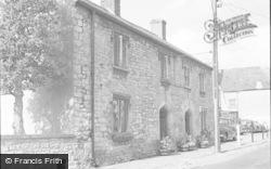 Cowbridge, Church Cottages 1953