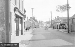 Cowbridge, East Street 1955