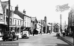 Cowbridge, High Street 1949