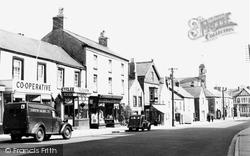 Cowbridge, High Street 1953