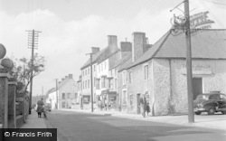 Cowbridge, High Street 1953