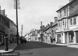Cowbridge, High Street 1955