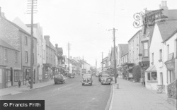 Cowbridge, High Street 1955