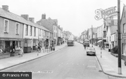 Cowbridge, High Street c.1965